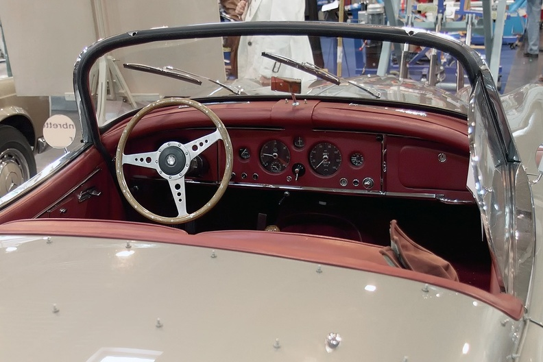 Cockpit Jaguar XK 150