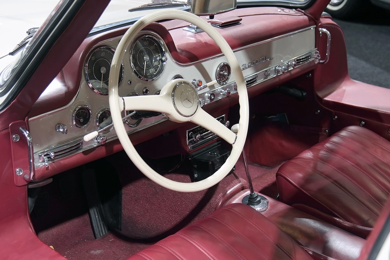 Cockpit Mercedes 300 SL