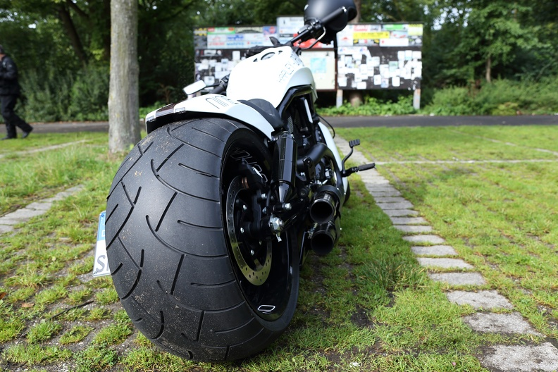 Harley nine Hinterrad