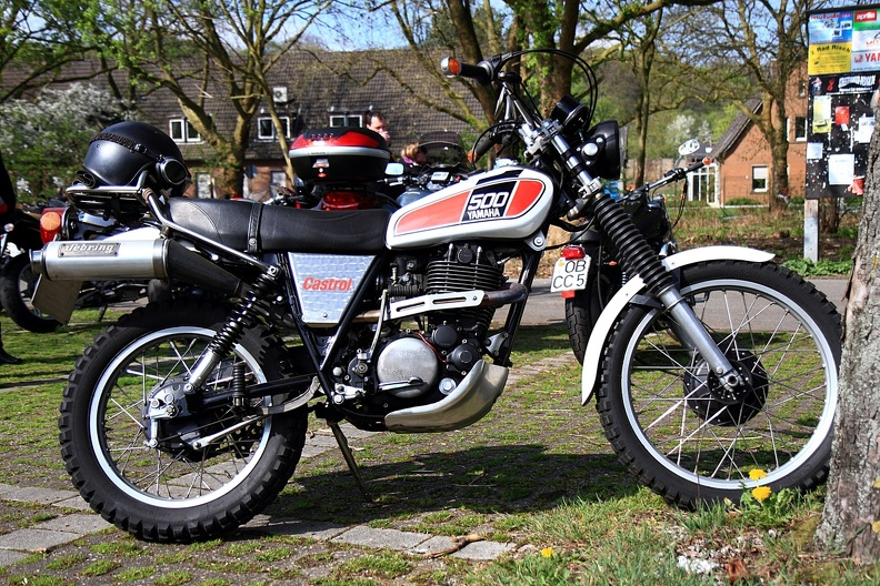 Legende Yamaha XT 500