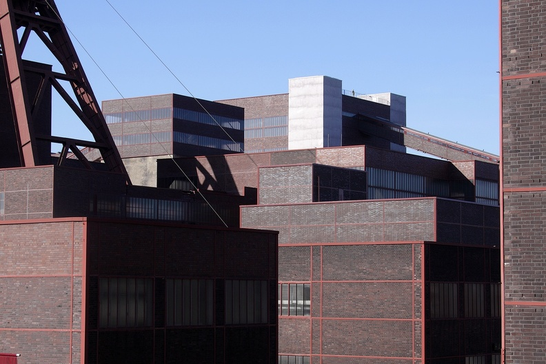 Zechenarchitektur Zollverein